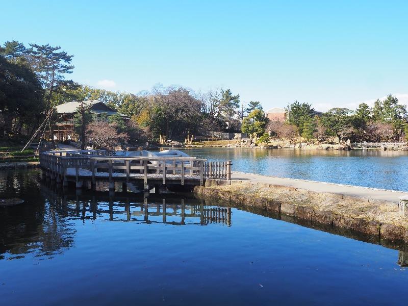 徳川園 西湖堤 & 菖蒲田