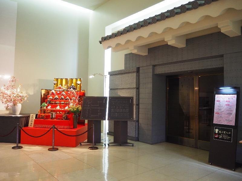 徳川美術館 ロビー