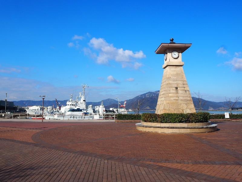 敦賀港 金ヶ崎緑地 時計台