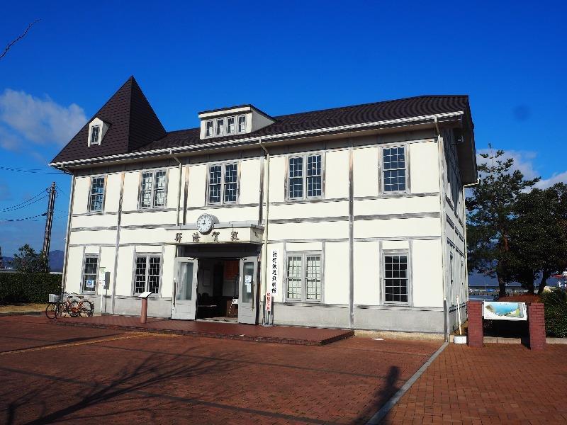 金ヶ崎緑地 旧敦賀港駅舎(敦賀鉄道資料館)