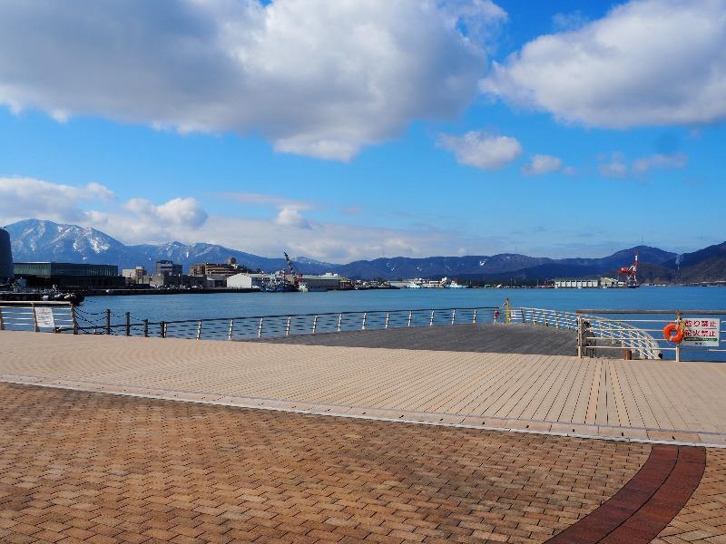 敦賀港 金ヶ崎緑地 ボートデッキ