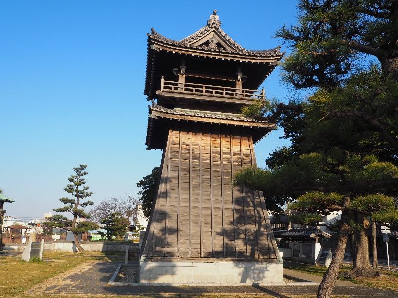 宮の渡し公園 時の鐘