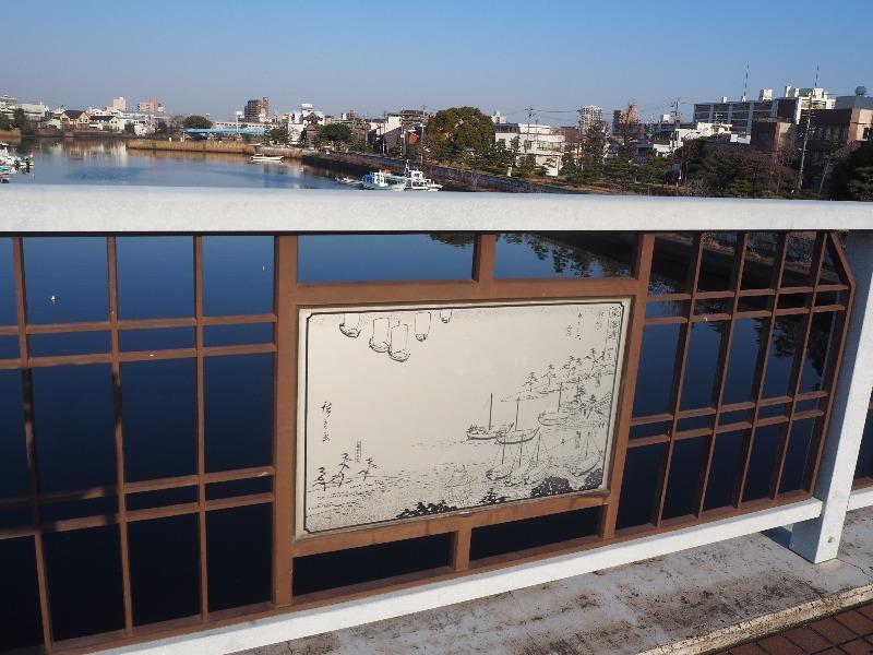 内田橋から宮の渡し公園