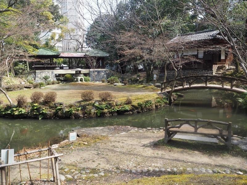 揚輝荘 北園 池泉回遊式庭園