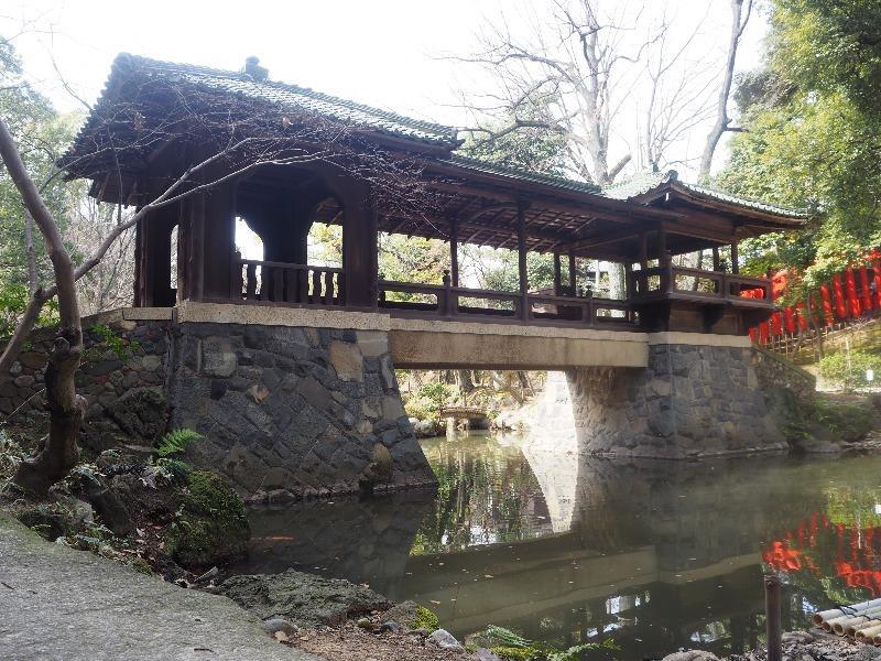揚輝荘 北園 白雲橋