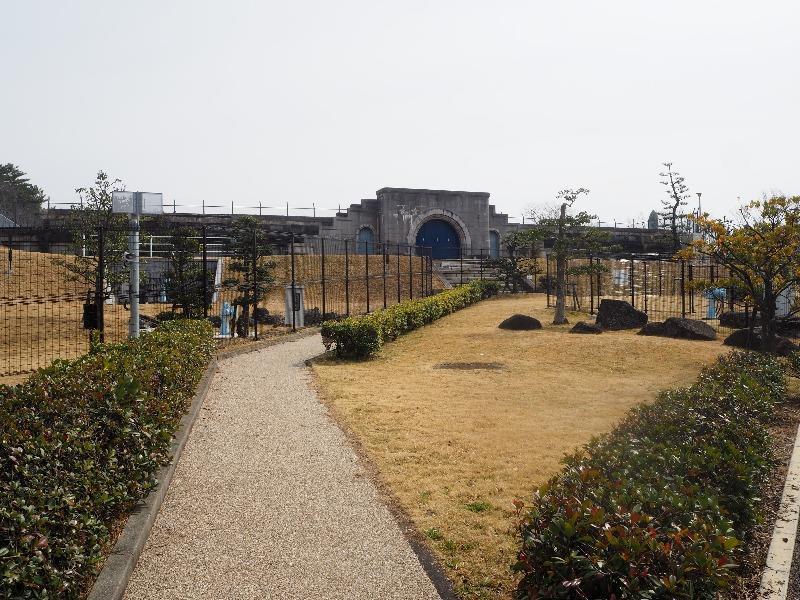 水の歴史 プロムナード 東山配水場5号配水池