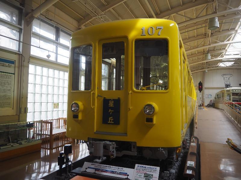 レトロでんしゃ館 地下鉄 100形(107号車)