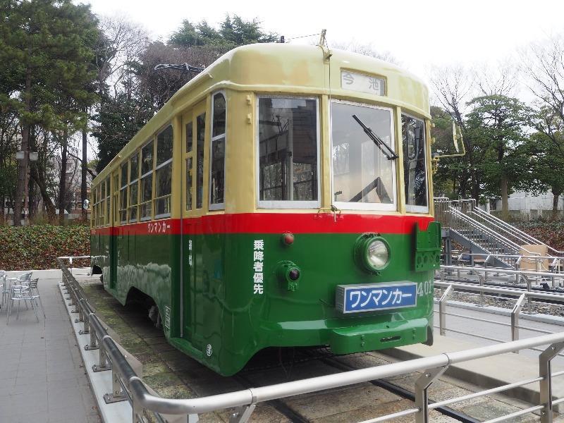 名古屋市科学館 1400型(1401号車)ボギー車