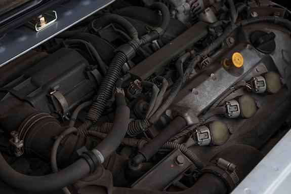 Mitsubishi i (三菱アイ) Turbo HA1W  3B20エンジン