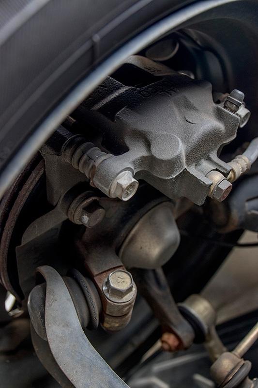 Mitsubishi i (三菱アイ) Turbo HA1W  ブレーキ