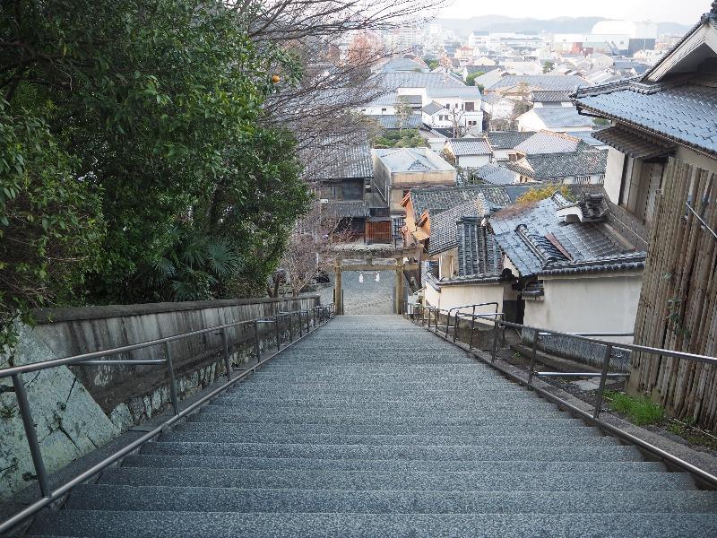 美観地区 阿智神社