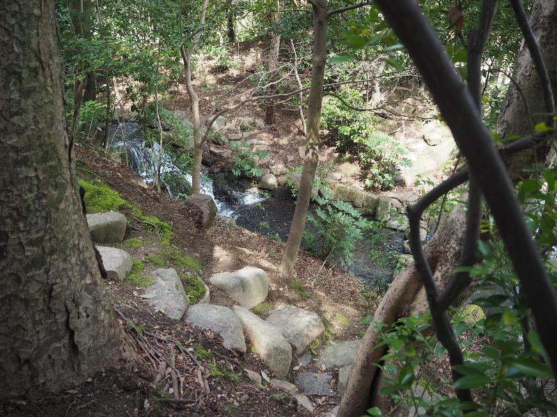 後楽園 花交の滝