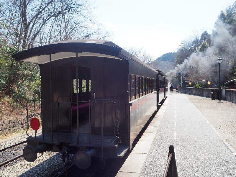 明治村 SL 東京駅(蒸気機関車)