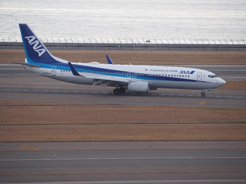 セントレア(中部国際空港)ANA航空機