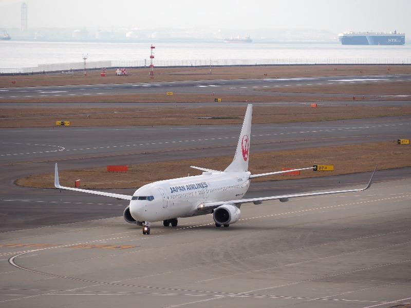 セントレア(中部国際空港)JAL航空機(1)