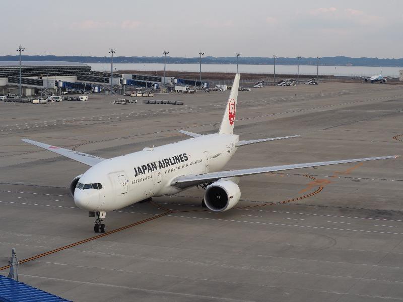 セントレア(中部国際空港)JAL航空機(2)