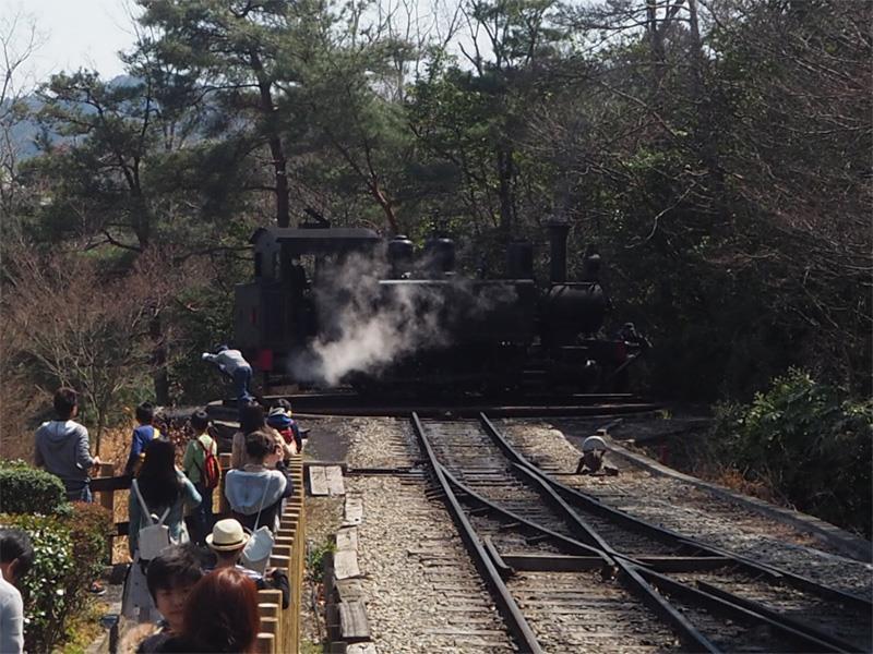 明治村 SL 名古屋駅(機関車まわし)(1)