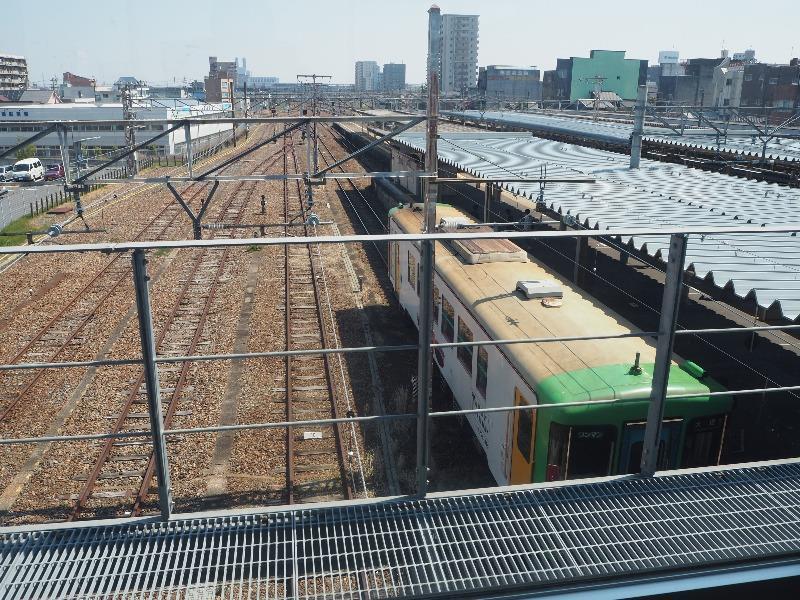 大垣駅 南北自由通路 樽見鉄道