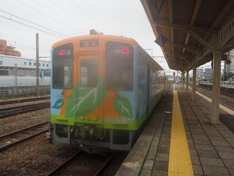 樽見鉄道 大垣駅 ハイモ 樽見行