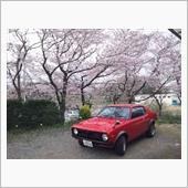 愛車と桜!