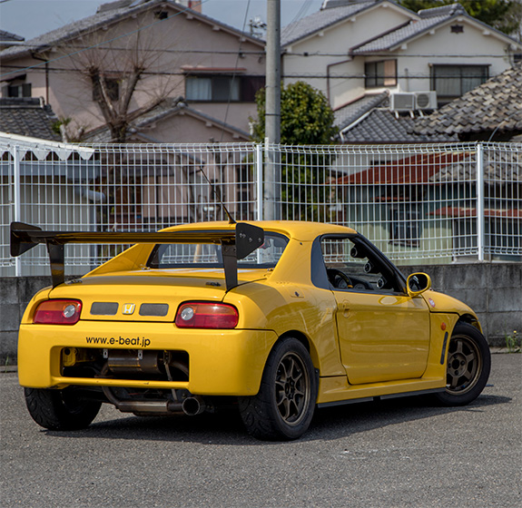Honda Beat ホンダ ビート 黄姫