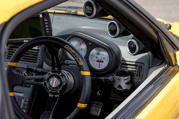 Honda Beat ホンダ・ビート PP1 RSマッハ RSmach 黄姫 ステアリング MOMO モモ Drift