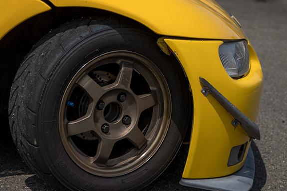 Honda Beat ホンダ・ビート PP1 RSマッハ RSmach 黄姫 ADVAN アドバン A050 Sタイヤ RAYS レイズ TE37