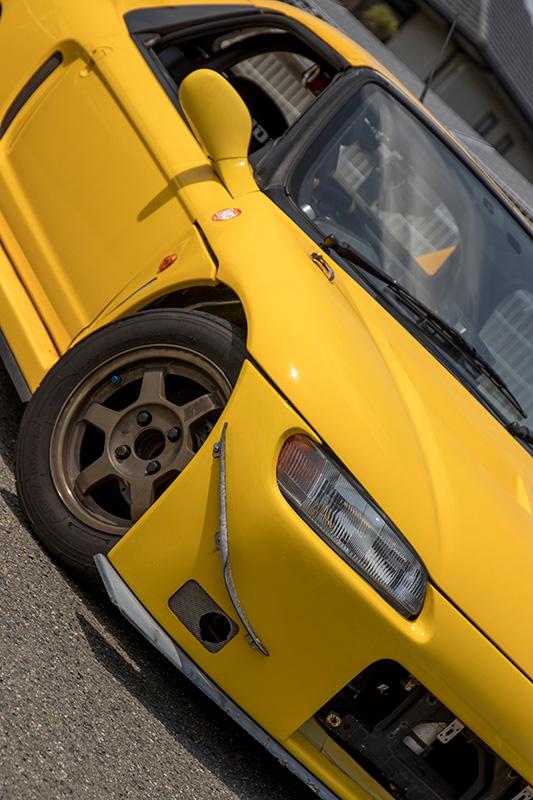 Honda Beat ホンダ・ビート PP1 RSマッハ RSmach 黄姫