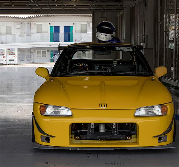 烈ビート 鈴鹿フルコース ホンダ ビート Honda Beat RSマッハ RSmach 黄姫