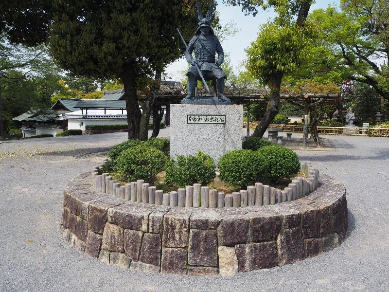 岡崎公園 本多平八郎忠勝公像