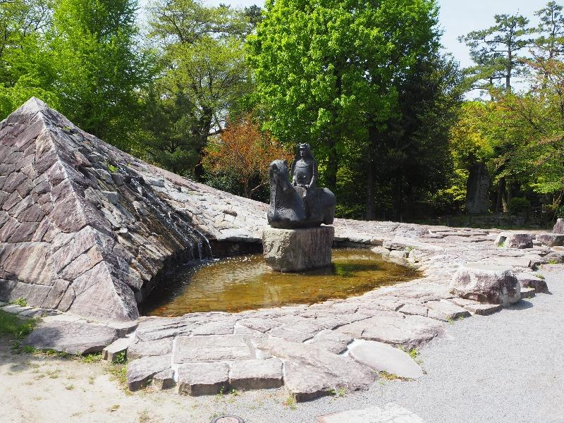 岡崎公園 家康公生誕450年祭 松平元康像