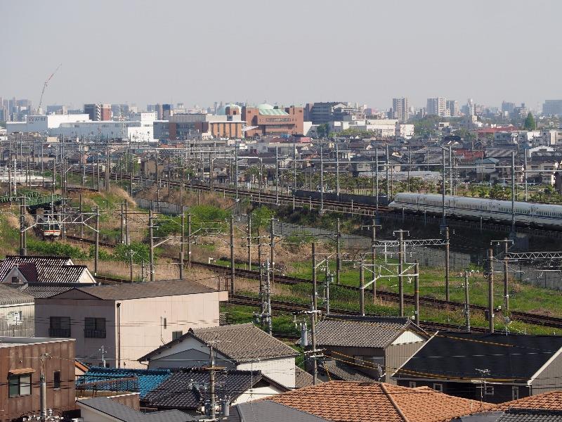清洲城 天主閣 4階 名古屋方面(2)