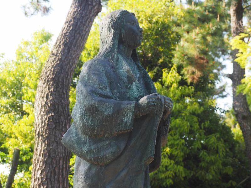 清洲公園 濃姫像