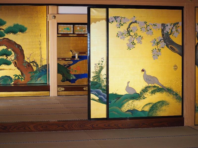 名古屋城 本丸御殿 表書院の座敷飾