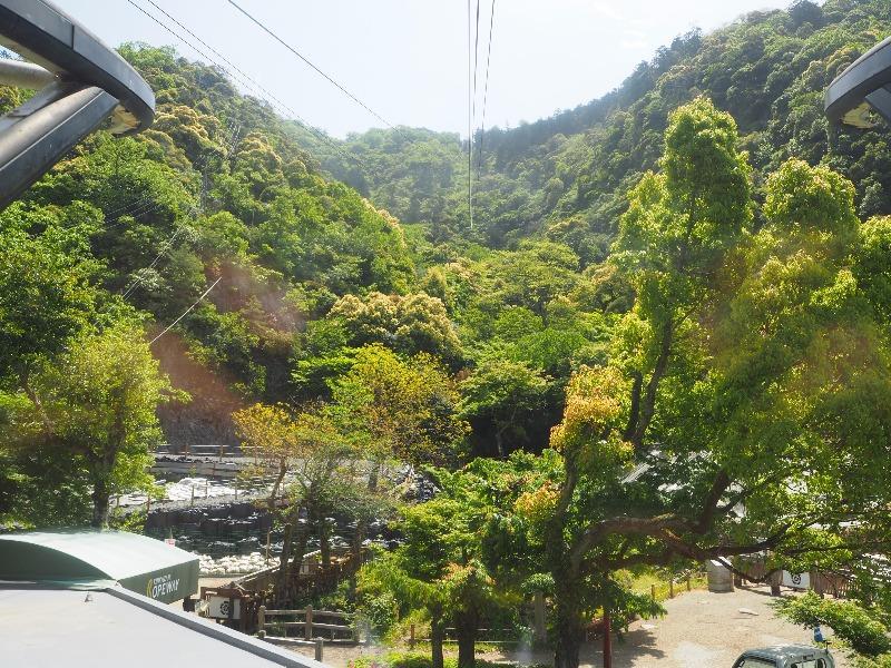 金華山ロープウェー 山麓駅~山頂駅