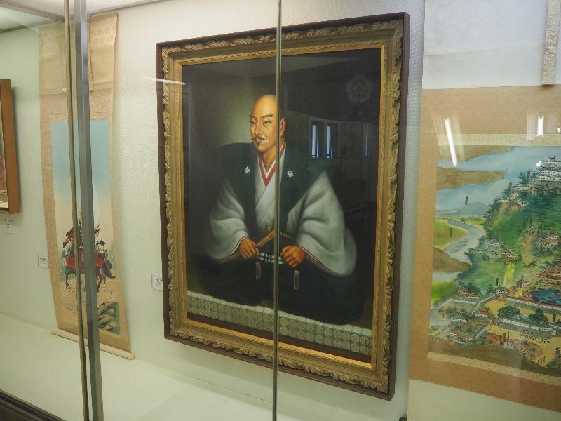 岐阜城 天主閣 信長肖像画