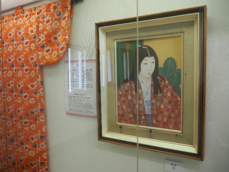 岐阜城 天主閣 濃姫肖像画