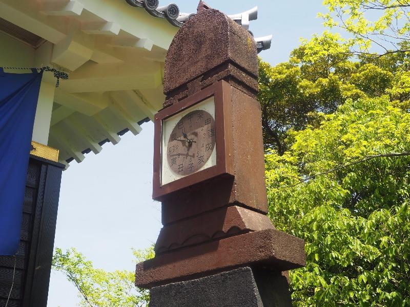 岐阜城 お城時計