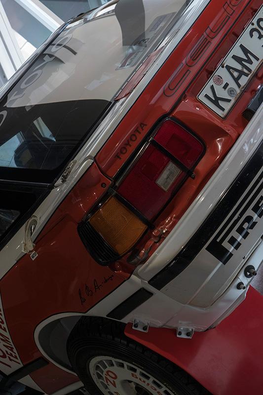 TOYOTA Celica GT-Four (ST165) Group.A Safari Rally トヨタ グループAカー、セリカ サファリ・ラリー優勝車