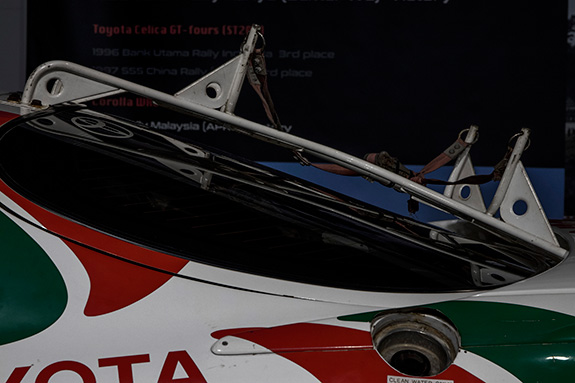 TOYOTA Celica GT-Four (ST185) Group.A Safari Rally トヨタ セリカ サファリラリー優勝車両