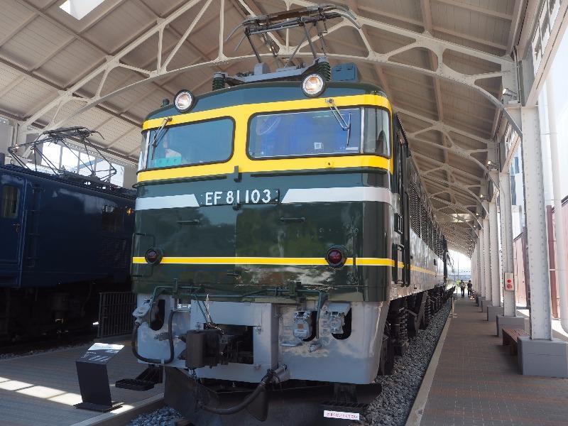 京都鉄道博物館 EF81形103号機