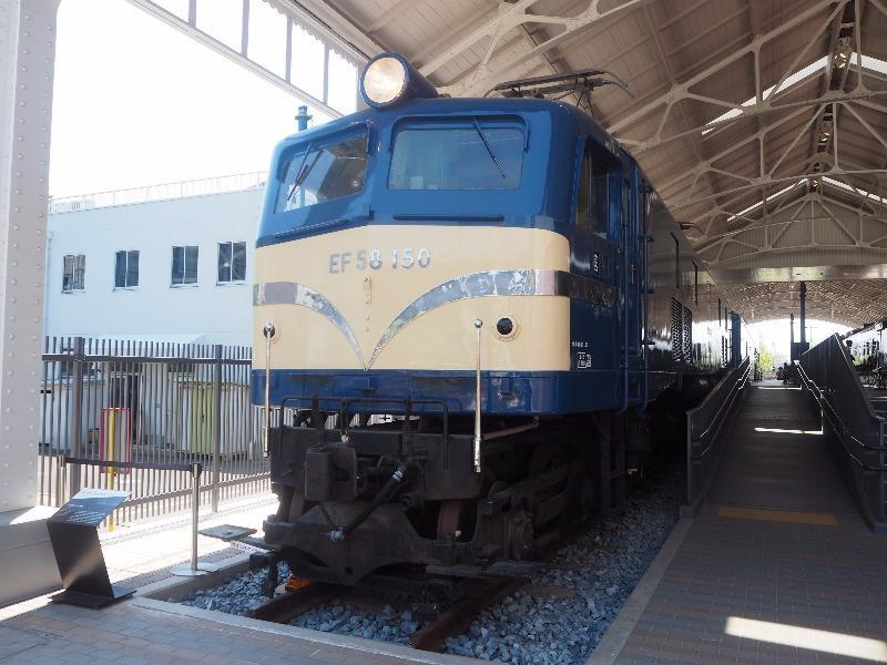 京都鉄道博物館 EF58形150号機