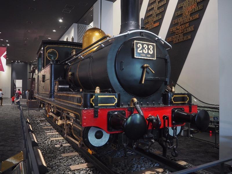 京都鉄道博物館 230形233号蒸気機関車