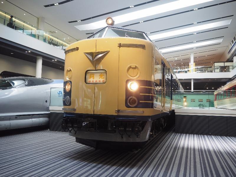 京都鉄道博物館 クハネ581形35号車