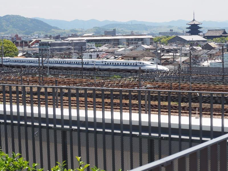 京都鉄道博物館 スカイテラス N700系