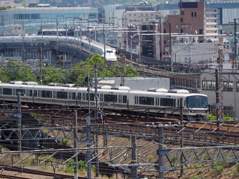 京都鉄道博物館 スカイテラス 並走(3)