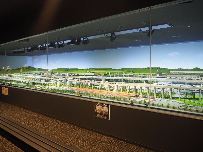 京都鉄道博物館 鉄道ジオラマ