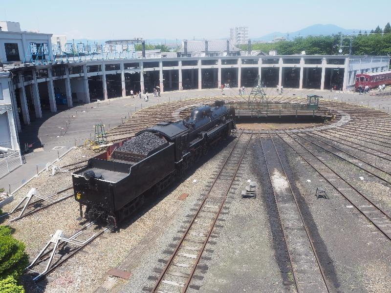 京都鉄道博物館 梅小路扇形車庫