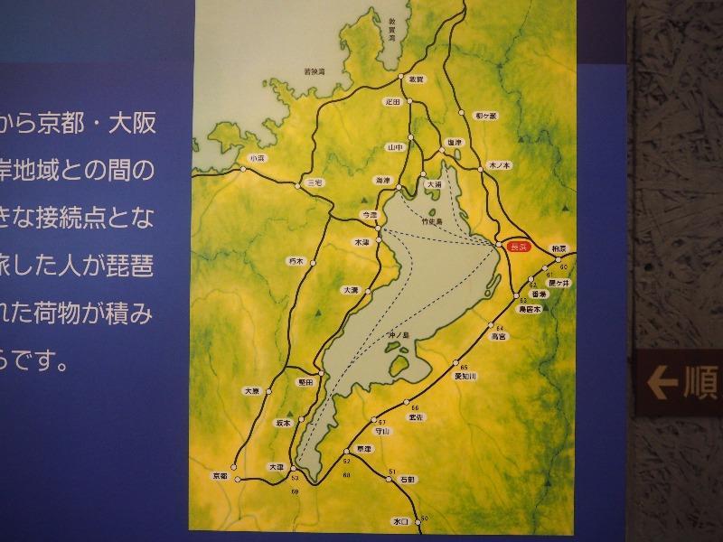 長浜鉄道スクエア 長浜鉄道文化館「鉄道開通以前の交通」