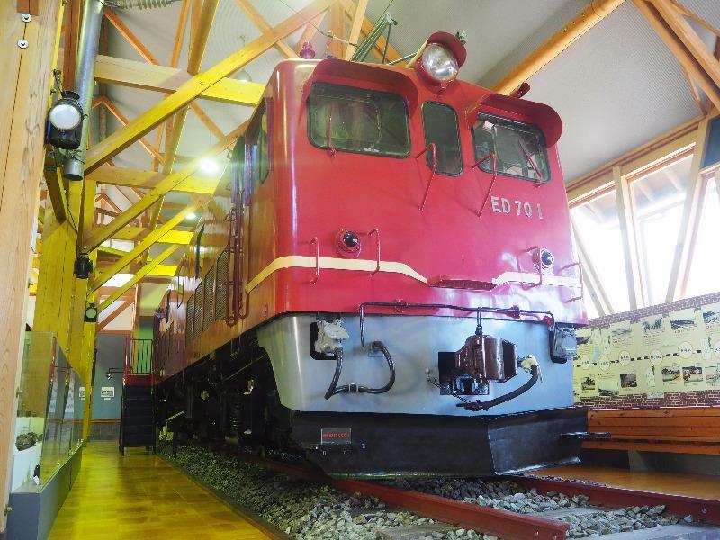 長浜鉄道スクエア 北陸線電化記念館 ED70形 1号機